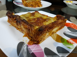 ma part lasagne. Miammm